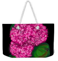 Weekender Tote Bag featuring the digital art Geranium by Christine Fournier