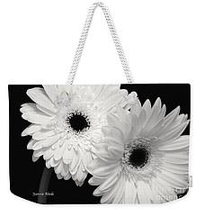 Gerbera Daisy Sisters Weekender Tote Bag by Jeannie Rhode