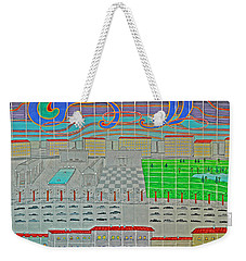 German Cityscape Weekender Tote Bag