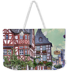 German Village Along Rhine River Weekender Tote Bag