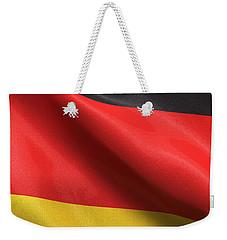 Germany Flag Weekender Tote Bag by Carsten Reisinger