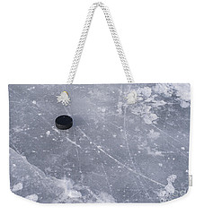 Get The Puck Outta Here Weekender Tote Bag by Steven Ralser