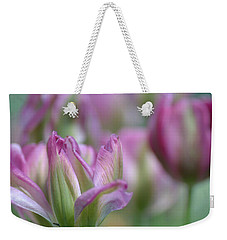 Getting Flirty Weekender Tote Bag by Fraida Gutovich