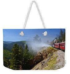 Getting Steamed Weekender Tote Bag by Jeremy Rhoades