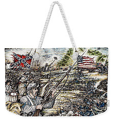 Gettysburg Ash's At The Angle Weekender Tote Bag