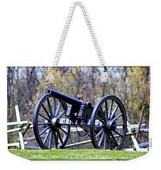 Gettysburg Battlefield Cannon Weekender Tote Bag by Patti Whitten