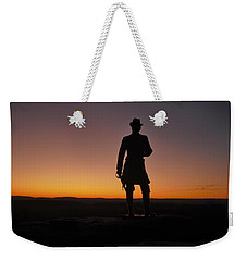 Gettysburg Sunset Weekender Tote Bag by Ed Sweeney