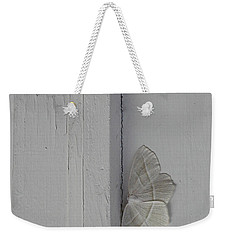 Ghost Doorbell Moth Weekender Tote Bag