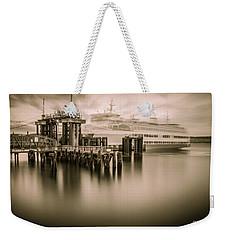 Ghost Ferry Weekender Tote Bag