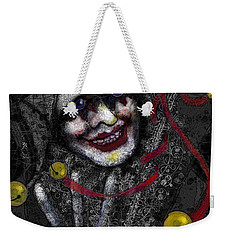 Ghost Harlequin Weekender Tote Bag