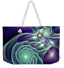 Ghost Lights Weekender Tote Bag
