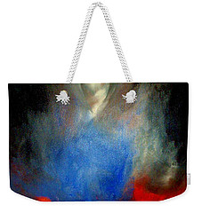 Weekender Tote Bag featuring the painting Ghost by Lisa Kaiser