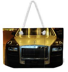 Rolls Royce Ghost Weekender Tote Bag by Salman Ravish