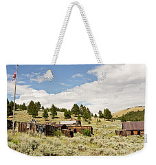 Ghost Town In Summer Weekender Tote Bag by Sue Smith