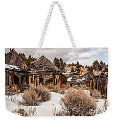 Ghost Town Weekender Tote Bag by Sue Smith