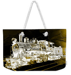 Ghost Train Weekender Tote Bag