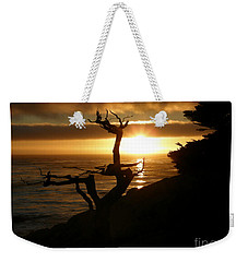 Ghost Tree At Sunset Weekender Tote Bag