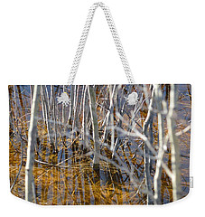 Weekender Tote Bag featuring the photograph Ghost Willows by Brian Boyle