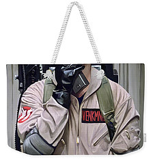 Weekender Tote Bag featuring the painting Ghostbusters - Bill Murray Artwork 2 by Sheraz A