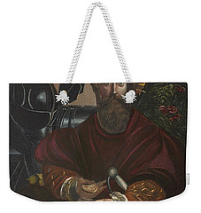 Weekender Tote Bag featuring the painting Gian Galeazzo Sanvitale by Granger