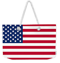 Giant American Flag Weekender Tote Bag