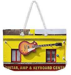 Giant Gibson Les Paul Weekender Tote Bag