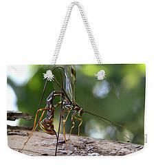 Giant Ichneumon Wasp Weekender Tote Bag