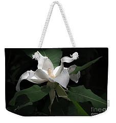 Giant Magnolia Weekender Tote Bag by Angela DeFrias