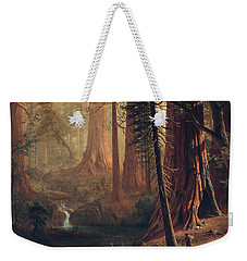 Giant Redwood Trees Of California Weekender Tote Bag