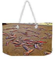 Giant Squid Capitola Beach Weekender Tote Bag by Antonia Citrino