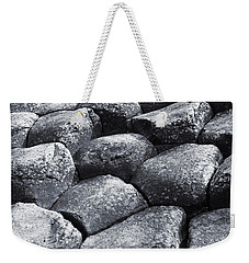 Weekender Tote Bag featuring the photograph Giant Steps by Jane McIlroy
