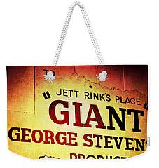 Giant Weekender Tote Bag