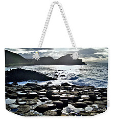Giant's Causeway Sunset Weekender Tote Bag