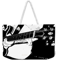 Gibson Guitar Graphic Weekender Tote Bag by Chris Berry