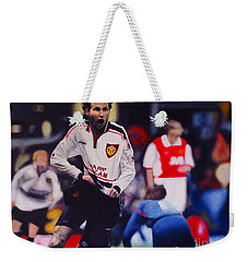 Giggs Goal V Arsenal Oil On Canvas Weekender Tote Bag
