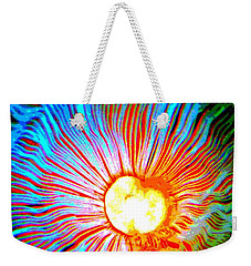 Weekender Tote Bag featuring the photograph Gills by Deena Stoddard