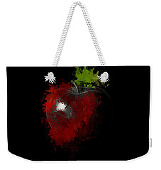 Gimme That Apple Weekender Tote Bag by Lourry Legarde