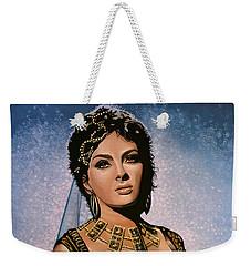 Gina Lollobrigida Painting Weekender Tote Bag