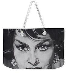 Gina Lollobrigida Weekender Tote Bag by Sean Connolly
