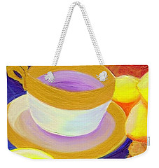 Ginger Lemon Tea By Jrr Weekender Tote Bag