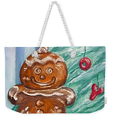 Gingerbread Cookies Weekender Tote Bag