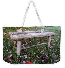 Ginny's Bench Weekender Tote Bag