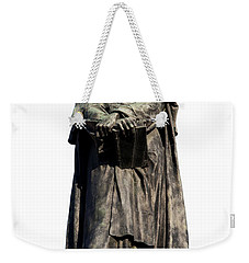 Giordano Bruno Weekender Tote Bag by Fabrizio Troiani