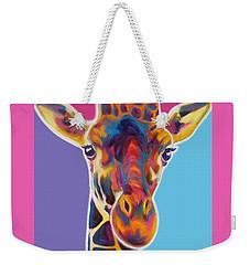Giraffe - Marius Weekender Tote Bag by Alicia VanNoy Call