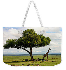 Giraffe And The Lonely Tree  Weekender Tote Bag