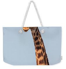 Giraffe Tongue Weekender Tote Bag by Adam Romanowicz
