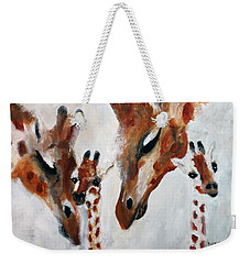 Giraffes - Oh Baby Weekender Tote Bag