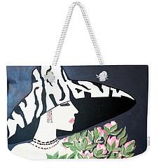 Girl That Loves Pink  Art Deco Weekender Tote Bag
