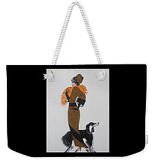 Girl With Orange Fur Weekender Tote Bag
