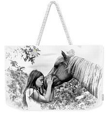 Girls And Their Horses Weekender Tote Bag